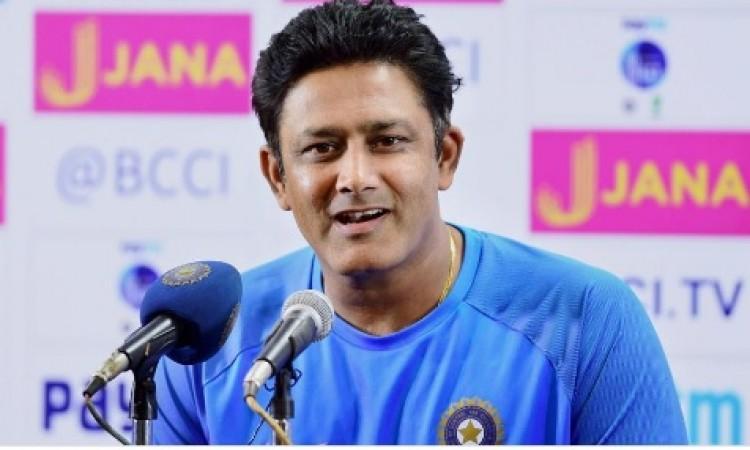 आ गई ये बड़ी खबर, अनिल कुंबले फिर से बन सकते हैं टीम के मेंटोर  BREAKING Images
