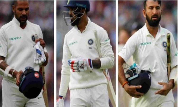 पांचवें टेस्ट में भारत की खराब बल्लेबाजी से खफा हुए क्रिकेट फैन्स, ट्विटर पर इस तरह से लगा रहे हैं फ