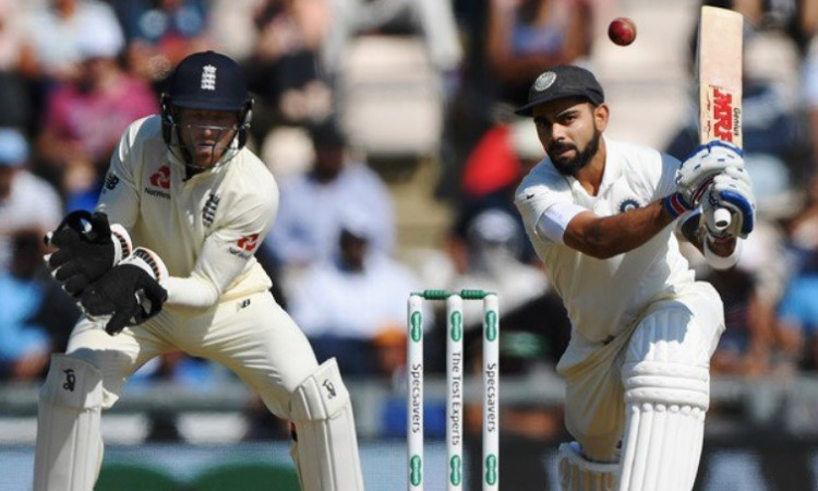 भारत की दूसरी पारी में कोहली ने फिर से रचा विराट रिकॉर्ड, ऐसा करने वाले पहले भारतीय कप्तान बने Image