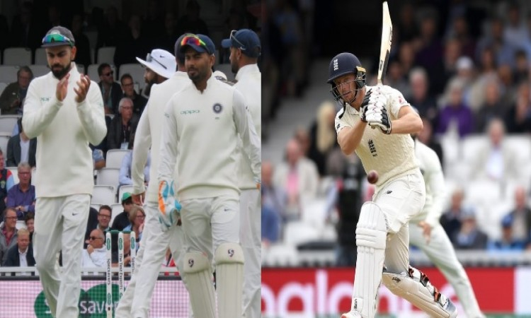 पांचवें टेस्ट के दूसरे दिन कोहली हुए हताश, जोस बटलर ने अर्धशतक जमाकर इंडियन टीम की हालत की पस्त Imag