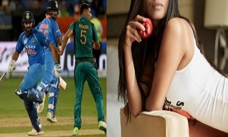 Asia Cup 2018: भारत - पाक मुकाबले से पहले इस खूबसूरत अभिनेत्री ने ऐसा फोटो डालकर मचाया बबाल Images