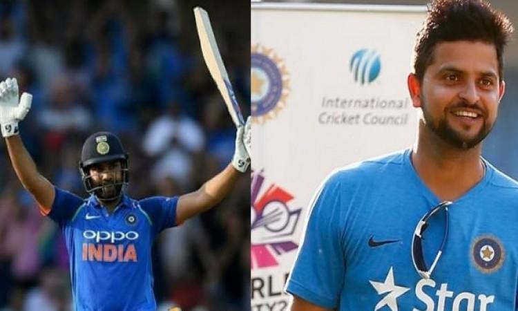सुरेश रैना का एशिया कप में चयन ना होने पर नए कप्तान रोहित शर्मा ने कह दी दिल जीतने वाली बात, जानिए I