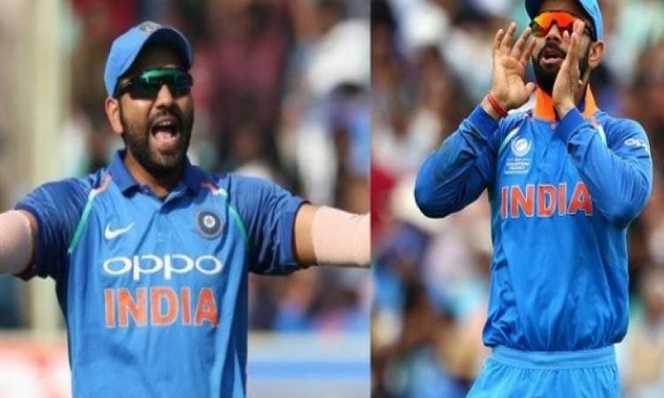 शर्मनाक: एशिया कप के लिए कप्तान बनते ही रोहित शर्मा ने कोहली के साथ कर दी ऐसी हरकत, फैन्स खफा Images