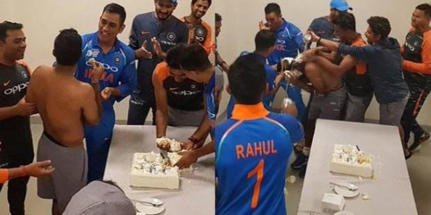 WATCH अंबाती रायडू के बर्थडे पर टीम इंडिया से इस तरह से मनाया जश्न, देखिए वीडियो Images