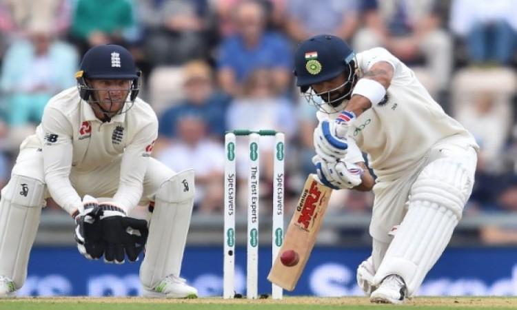 विराट कोहली और रहाणे कर रहे हैं संघर्ष, जानिए भारत को जीत के लिए अब कितने रनों की है दरकार