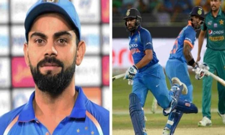 पाकिस्तान पर भारत की जीत से झुमे विराट कोहली, ऐसा खास मैसेज लिखकर टीम इंडिया को दी बधाई Images