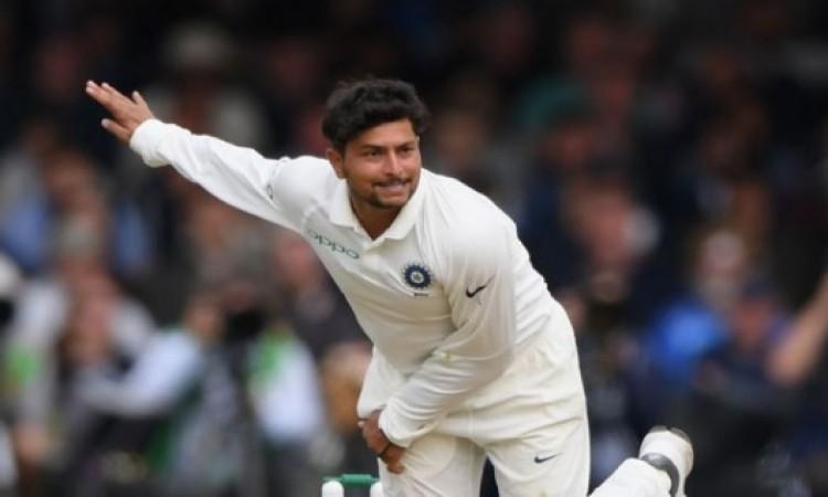 भारत की धरती पर टेस्ट में ऐसा धमाकेदार रिकॉर्ड बनानें वाले कुलदीप यादव केवल दूसरे गेंदबाज बने Images