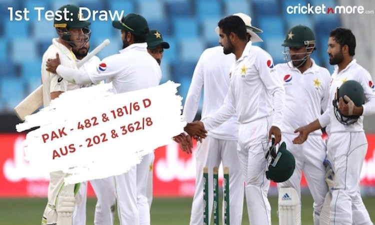Australia vs Pakistan in UAE 2018