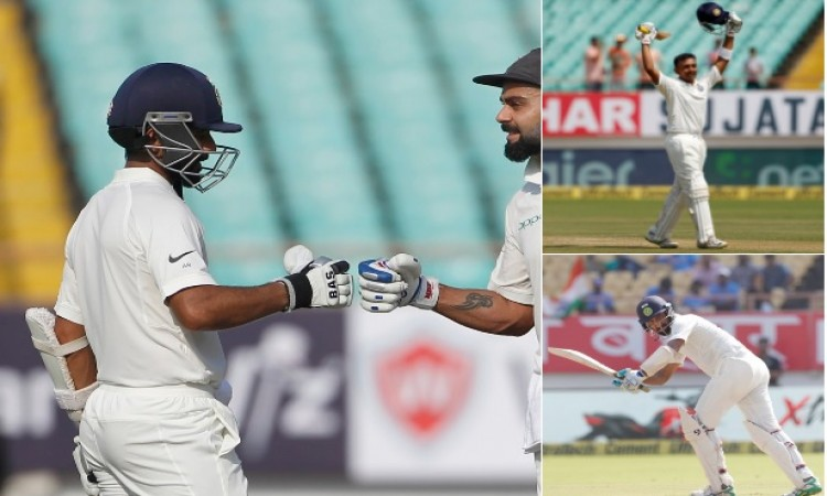 वेस्टइंडीज के खिलाफ पहले दिन भारत ने 4 विकेट पर 364 रन बनाकर बना दिया यह सबसे बड़ा रिकॉर्ड Images