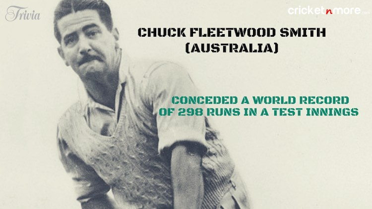 Chuck Fleetwood-Smith Trivia
