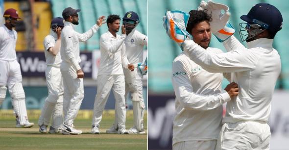 वेस्टइंडीज के खिलाफ टेस्ट जीतने के लिए भारत को केवल 2 विकेट की दरकार Images