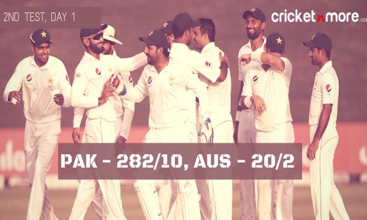 Australia vs Pakistan in UAE 2018