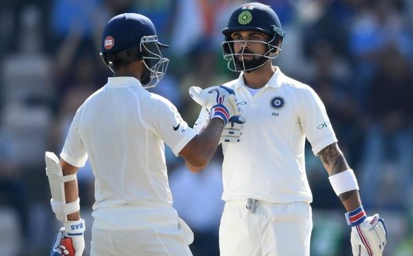 रहाणे 41 रन पर आउट लेकिन कोहली के साथ मिलकर टेस्ट क्रिकेट में किया ये खास कारनामा Images