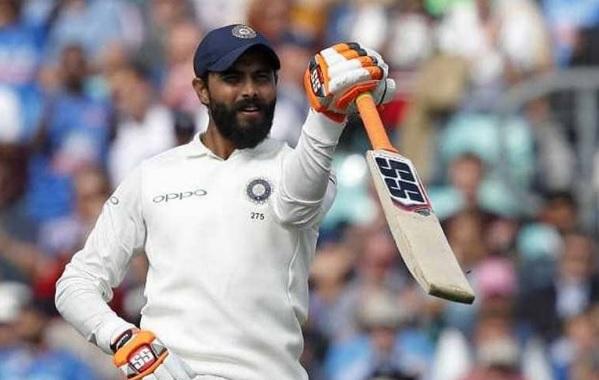 रवींद्र जडेजा ने अपने करियर का जमाया पहला शतक, भारत ने पहली पारी 9 विकेट पर 649 रन पर की घोषित Image
