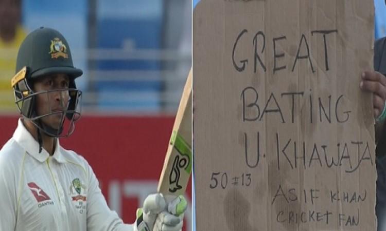 पाकिस्तान के खिलाफ उस्मान ख्वाजा ने ऑस्ट्रेलियाई क्रिकेट के लिए किया ऐसा खास कमाल