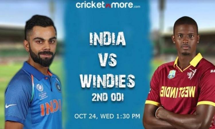 2nd ODI: Dominant India look to extend winning streak against hapless Windies Images