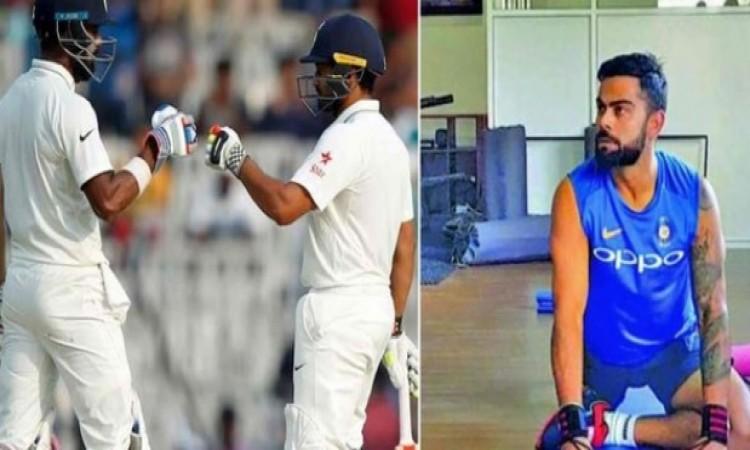 वेस्टइंडीज के खिलाफ टेस्ट टीम में जगह नहीं बना पाने वाला यह खिलाड़ी विराट से भी है ज्यादा फिट