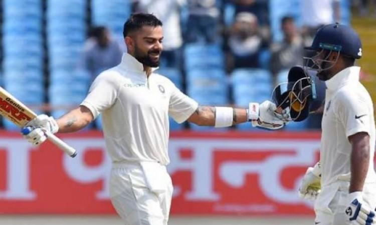 टेस्ट क्रिकेट के इतिहास में भारतीय टीम के बल्लेबाजों ने मिलकर बनाया ऐसा दिल जीतने वाला रिकॉर्ड  Imag