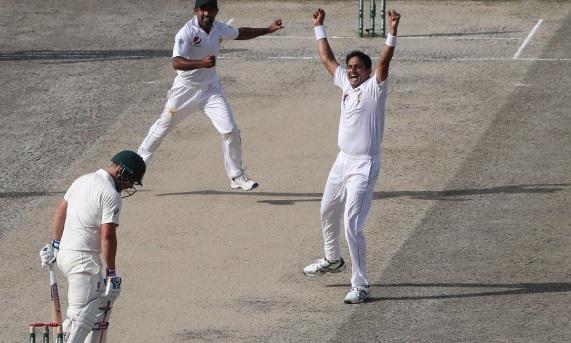 मोहम्मद अब्बास की गेंदबाजी ने कंगारू बल्लेबाजों पर ढ़ाया कहर, ऑस्ट्रेलिया पहली पारी में 145 पर सिमटी