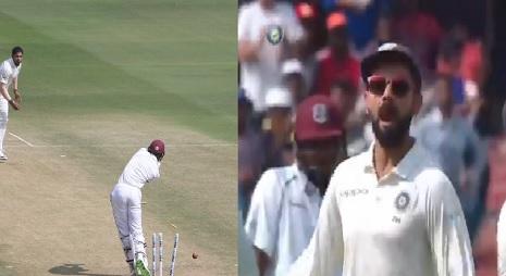 WATCH देखिए कैसे उमेश यादव की घातक रिवर्स स्विंग गेंदबाजी के आगे वेस्टइंडीज बल्लेबाज खा रहे हैं चकमा