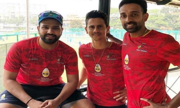 विजय हजारे ट्रॉफी का क्वार्टर फाइनल से पहले रोहित शर्मा ने अपने खास दोस्तों के साथ ऐसे बिताया समय Im