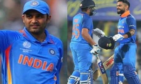 पहले वनडे में रोहित शर्मा के इस कारनामें से चौंके वीरेंद्र सहवाग, बधाई देते हुए लिख डाली ऐसी बात Ima
