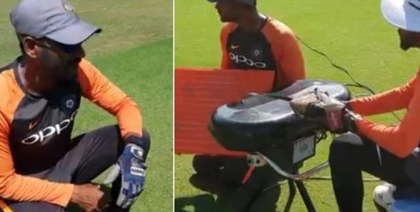 VIDEO भारतीय खिलाड़ियों की स्लिप में कैचिंग सुधारेगा टीम इंडिया का यह नया और खास सदस्य Images