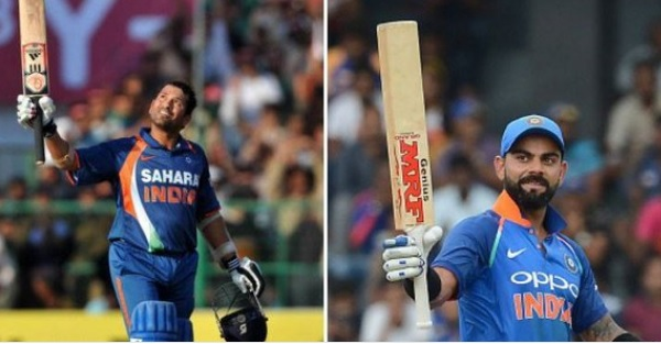 वेस्टइंडीज के खिलाफ वनडे सीरीज में कोहली महान सचिन के इस विराट रिकॉर्ड को भी तोड़ सकते हैं Images