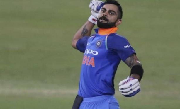 विराट कोहली ने जड़ दिया शतक औऱ इंटरनेशनल क्रिकेट में अपने इस खास रिकॉर्ड से किया धमाका Images