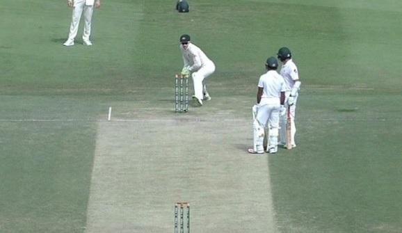 WATCH पाकिस्तान के अजहर अली हुए बेहद ही हैरान तरीके से रन आउट, देखकर चौंक जाएगें आप