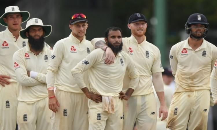 इंग्लैंड के लेग स्पिनर आदिल राशिद की गजब की गेंदबाजी, श्रीलंकाई पहली पारी केवल 240 पर आउट Images