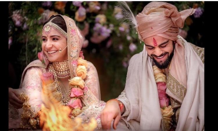 विराट और अनुष्का अपनी शादी की पहली सालगिरह इस रोमांटिक अंदाज में मनानें वाले हैं Images
