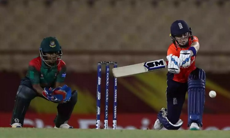 ICC Women's World T20: England defeated Bangladesh by 7 wickets (DLS Method) Images
