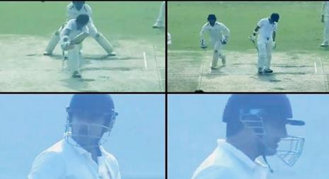 WATCH रणजी ट्रॉफी में आउट होने के बाद अंंपायर पर बौखलाए गंभीर, दिया ऐसा रिएक्शन Images