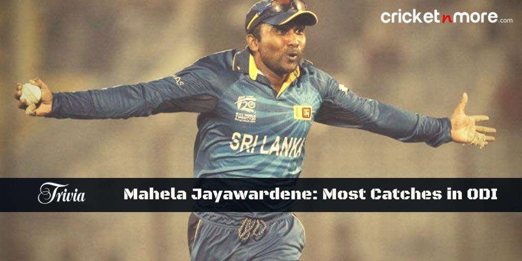 Mahela Jayawardene Trivia