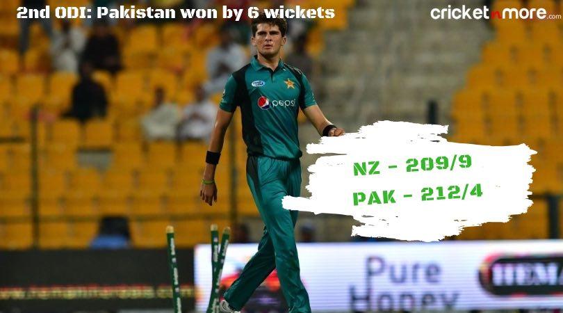 New Zealand vs Pakistan in UAE 2018