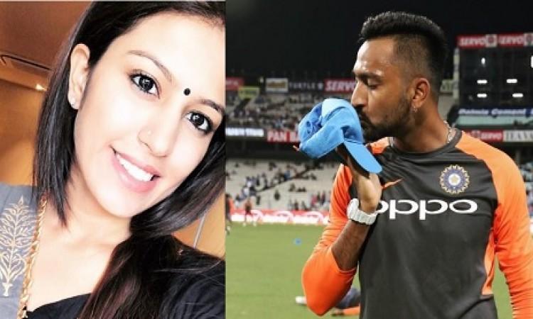 क्रुणाल पांड्या के टी-20 डेब्यू करने पर खूबसूरत वाइफ पंखुड़ी शर्मा ने दिल खोलकर लिखी दिल जीतने वाली