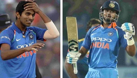 वेस्टइंडीज के खिलाफ तीसरे टी-20 में भारत की प्लेइंग इलेवन में श्रेयस अय्यर और वाशिंगटन सुंदर को मौका