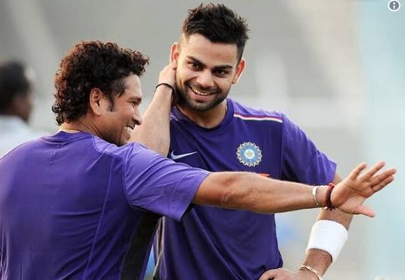 क्रिकेट के भगवान सचिन ने विराट कोहली को इस खास अंदाज में किया बर्थडे विश, देखिए Images