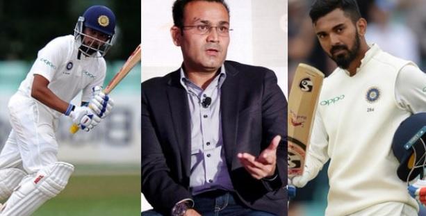 सहवाग के अनुसार, इन दो बल्लेबाजों को ऑस्ट्रेलिया के खिलाफ टेस्ट सीरीज में ओपनिंग करनी चाहिए Images