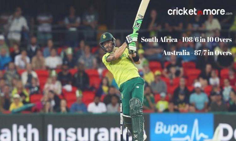 South Africa tour of Australia 2018
