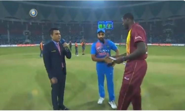दूसरे टी-20 में वेस्टइंडीज ने जीता टॉस, पहले गेंदबाजी करने का किया फैसला Images
