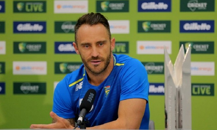 Du Plessis signals T20I retirement post 2020 World T20 Images