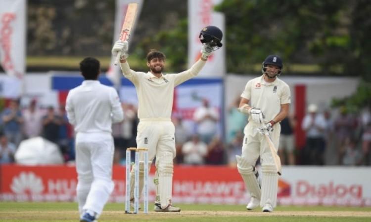 श्रीलंका के खिलाफ इंग्लैंड के इस खिलाड़ी ने डेब्यू करते ही रच दिया यह कमाल का ऐतिहासिक कारनामा Image