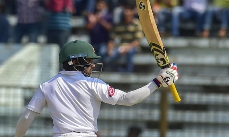 वेस्टइंडीज के खिलाफ पहले टेस्ट में बांग्लादेश के मोमिनुल हक का रिकॉर्ड, कर ली विराट कोहली की बराबरी