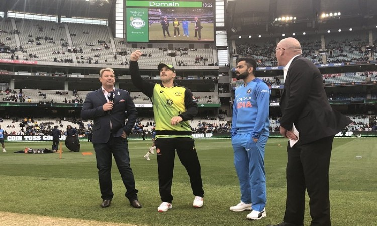 2nd T20I: India opts to field vs Australia Images