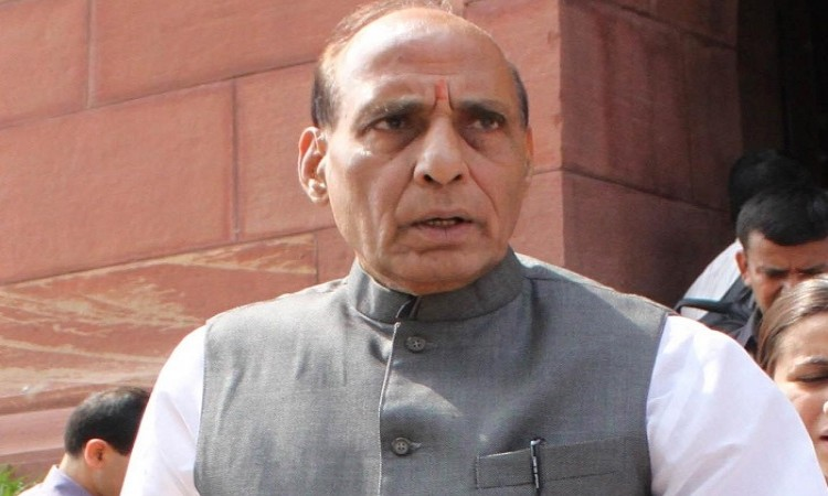 Rajnath Singh jibes at Afridi's remark Images
