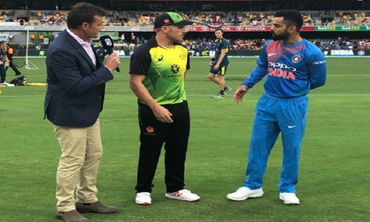 1st T20I: India to field against Australia Images