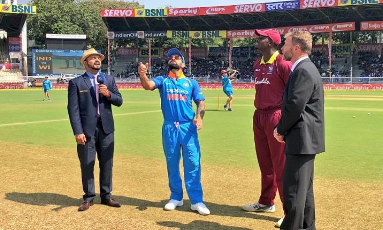 india vs west indies toss