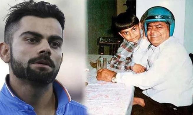जब विराट कोहली ने पिता के देहांत के बाद भी मैदान पर जाकर जमाया शतक फिर किया अंतिम संस्कार Images
